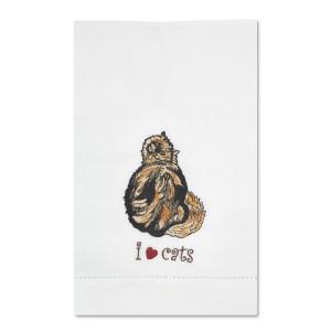 Tortoise Shell Cat Tea Towel 45419