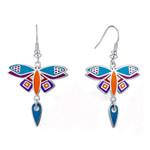 Dragonfly Laurel Burch Earrings - 5092