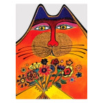 Laurel Burch Appreciation Card Thanks a Bunch TKG17063