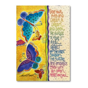 Laurel Burch Birthday Card May Each Day Be a Gift BDG14792