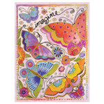 Laurel Burch Birthday Card Imagine a world BD14490