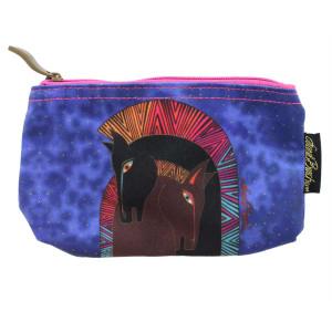 Laurel Burch Embracing Horses 7x4 Cosmetic Bag LB5330A (LB5330A)