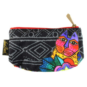 Laurel Burch 7x4 Cosmetic Bag Mara Cat LB5854A