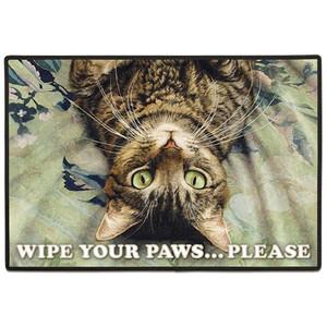 Cat Perspective Welcome Floor Mat Doormat - FE-D315