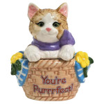 Kitty Cat Basket Your Purrfect Salt and Pepper Shakers - 94478