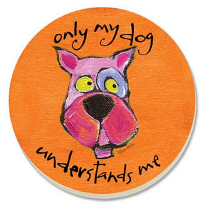 My Dog Understands Me Stone Coasters 4 Pack 87079