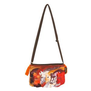 Laurel Burch Moroccan Mares Crossbody Bag LB5552G
