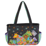 Laurel Burch Canine Clan Medium Tote - LB6052