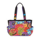 Laurel Burch Floral Flora Medium Tote - LB6231