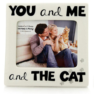You and Me and the Cat Frame