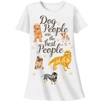 Dog People are Best People Theme Sleep Shirt Pajamas