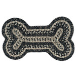 Black and Tan Dog Bone 13x22 Rug DB-093