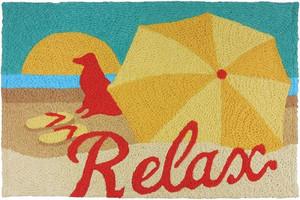 Relax Beach Dog Rug Indoor Outdoor Washable JB-JG002