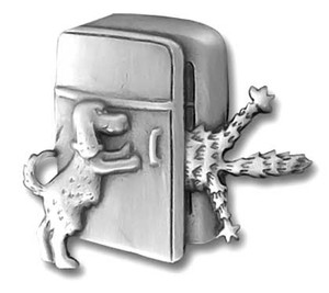 Cat and Dog Refrigerator Door Clutch Pin 1190CP