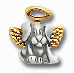 Dog Angel Small Lapel Pin 1945CP