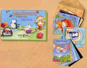 Cat Greeting Card Cards Assortment 20 Designs - AST90699
