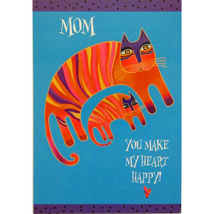 Laurel Burch Mom Birthday Card BRT16990