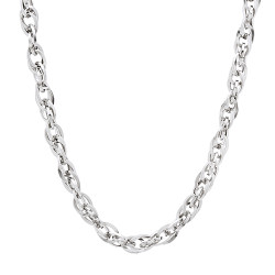 3.5mm High-Polished Stainless Steel Wire Cable Chain Necklace