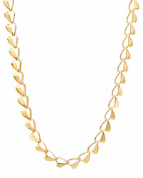 Women's 6mm 24k Yellow Gold Plated Cable Link Chain Necklace