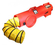 """Confined space ventilation  8"""" Blower system"""