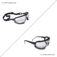 Dagger Foam Lined Safety Goggles