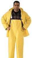 Industrial Work .35 MM PVC on Polyester 3 Piece Rainsuit