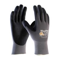 G-Tek® MaxiFlex™ Black Micro-Foam Nitrile-Coated Nylon Gloves (Per DZ)