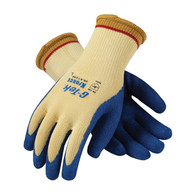 G-Tek® K-Force Seamless Knit Kevlar® Glove with Latex Coated Crinkle Grip - Cut Level 5 (Per DZ)