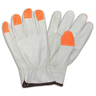 Hi Viz  Leather Grain Driver (Per DZ)
