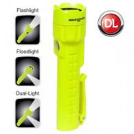 Night Stick - Intrinsically Safe Dual-Light Floodlight/Flashlight 120-240 Lumens