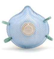 N95 Particulate Respirators with Exhale Valve  - M/L (Per CS)