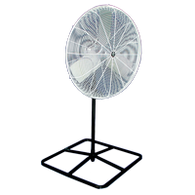 OSHA Compliant Pedestal Fan (Non-Oscillating Fan Head)