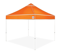 E-Z UP Hi-Viz™ Heavy Duty Industrial Grade Utility Shelter - 10' x 10'