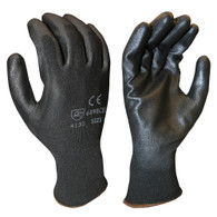 General Duty Seamless Coated Glove - Size L (Per DZ)