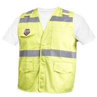 Hi-Vis Class 2 FR Cotton Vest