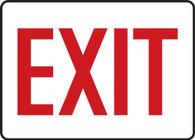 "Exit Sign 10""x14"""
