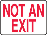 "Not An Exit Sign 10""x14"""