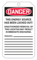 Danger Locked Out Tags (100/RL)