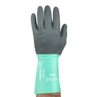 AlphaTec®  Nitrile Hi Dex Knit Lined Glove (Per DZ)