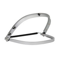 Aluminum Bracket - Mounts Face Shield to Cap Style Hard Hats