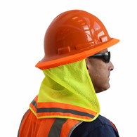 Hi-Viz Hard Hat Neck Shades