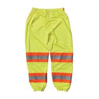 Class E Two-Tone Mesh Pants - Yellow Size L/XL