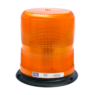 7970A BEACON MED PROFIL 12-24VDC 11 FLASH PATTERNS, AMBER
