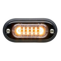 MINI SURFACE MT LED BEACON AMBER