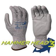 Hammer Head 3 Cut Resistant A3 Glove w/ Nitrile Palm Coating (Per DZ)