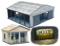 Woody's Lumber Yard - Set