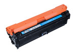 HP 651A (CE341A) Cyan Laser Toner Cartridge (Remanufactured)