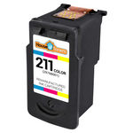 Canon CL-211 (2976B001) Tri-Color Ink Cartridge (Remanufactured)