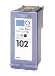 HP #102 (C9360AN) Photo Gray Ink Cartridge (Remanufactured)