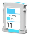HP #11 (C4836AN) Cyan Ink Cartridge (Remanufactured)